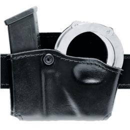 Safariland 090H-16 Black Plain Open-Top Formed Handcuff Pouch